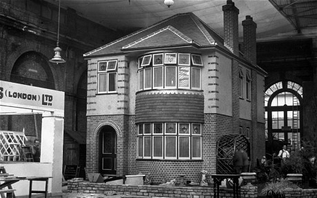 A model 1930s house Photo: Topical Press Agency (c) Getty
