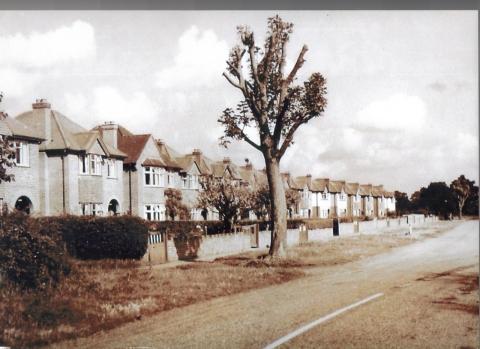 Moor Lane c.1950