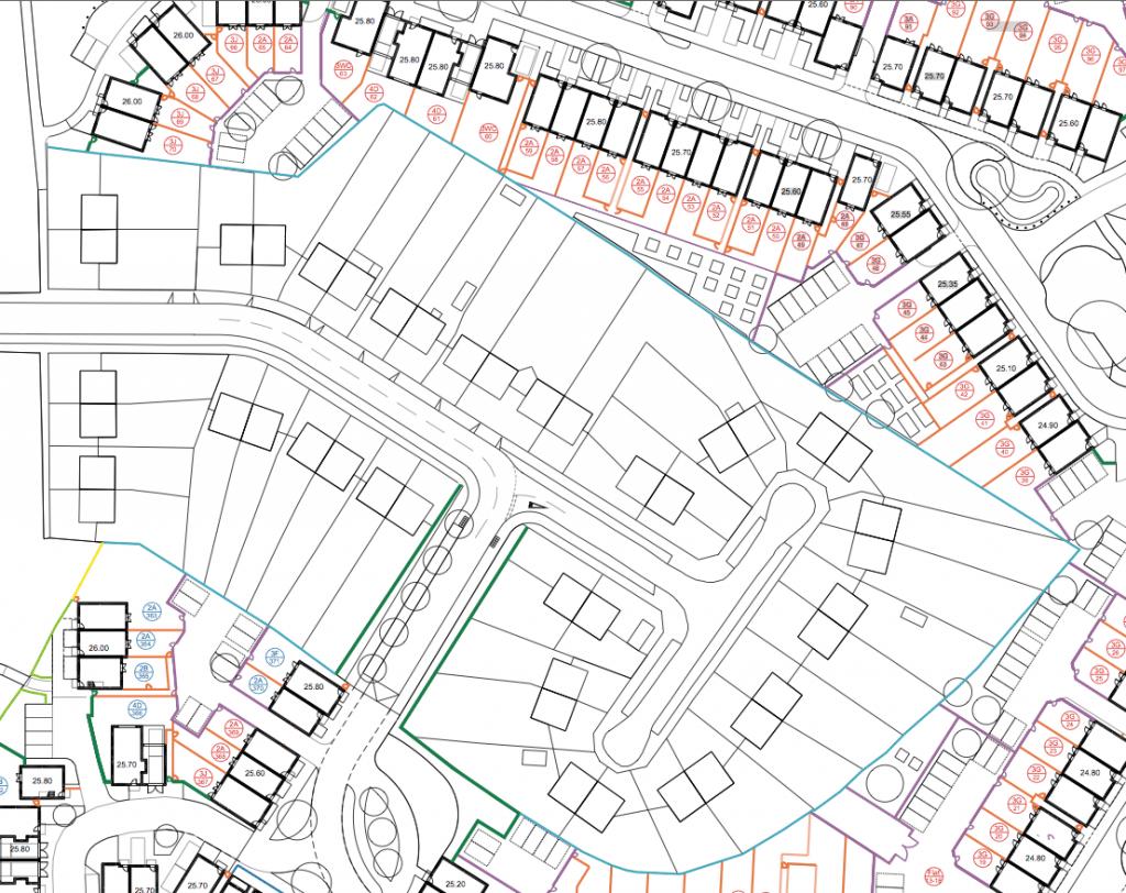 Westfield Way, Boundary Plans