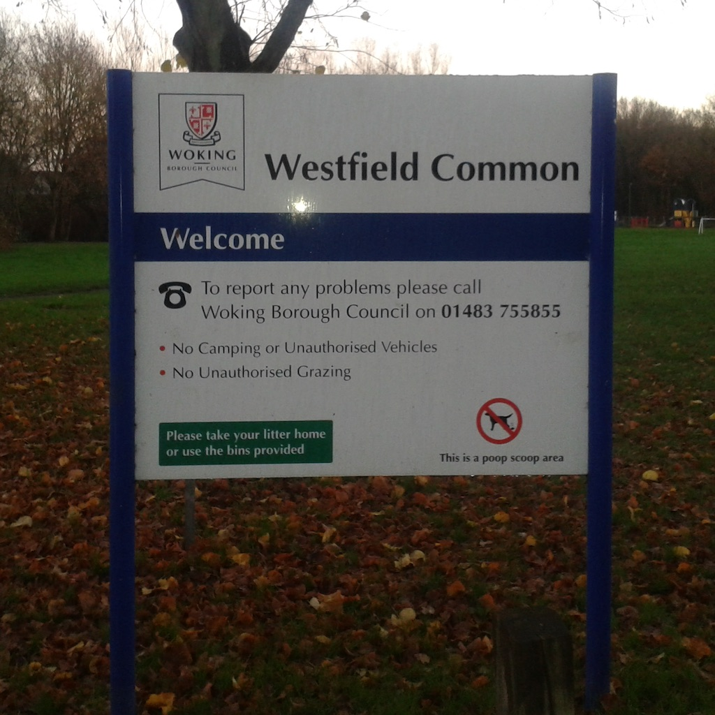 WestfieldCommon-sign-front